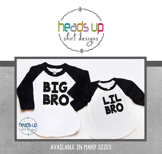 Toddler Boy Little Brother Shirt Raglan Lil Bro Trendy tshirt Kid Sibling Tees