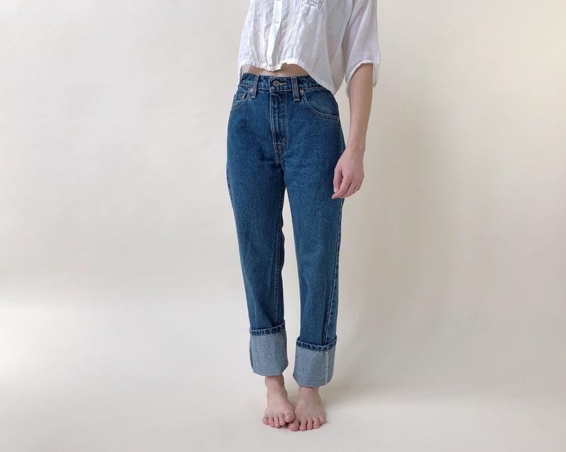 3edf2d7afe4 Vintage Levis Size 2 4 / 26 27 90s Levi 505 High Rise | Etsy