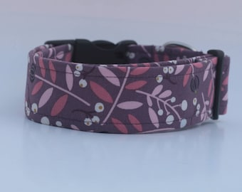 "The ""Purple Molly"" Dog Collar"