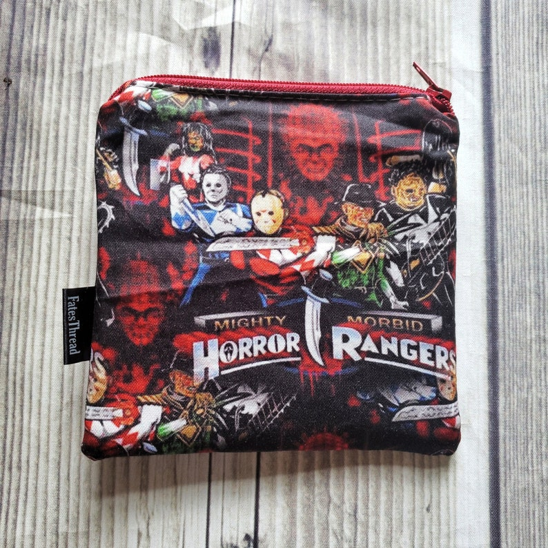 sewing pouch coin purse Notion Pouch Knitting notion pouch coin pouch dice pouch zipper bag Halloween bag zipper pouch