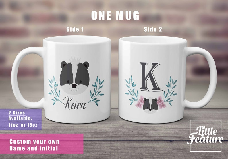 Pet Mug Skunk Custom Coffee Gifts For Best