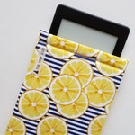 SAPLING Cozy - Lemons and Navy Stripes