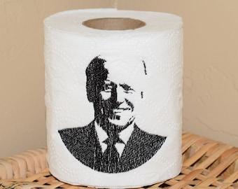 Instant Download: Democrat, Political, President, Debate, Election, Biden Toilet Paper Machine Embroidery Design + TP Hooping Instructions