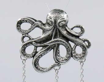 """Chatelaine - 3 chains """"Octopus"""""""