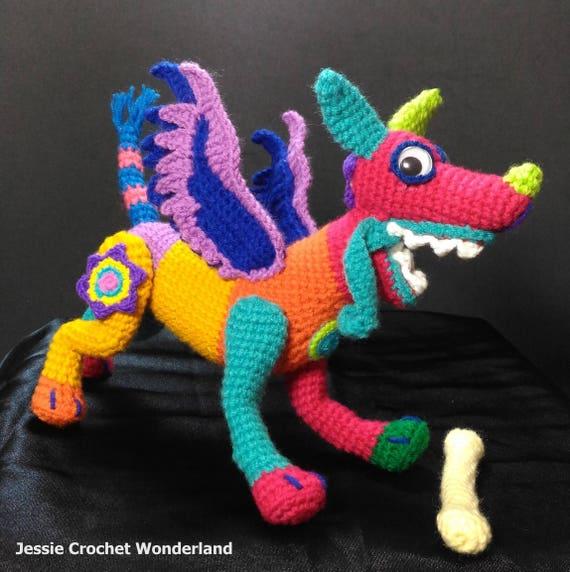 Dante Spirit Guide Coco Movie English Crochet Pattern