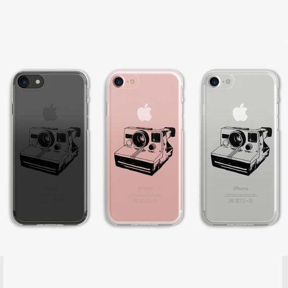 new arrival 2eac0 bd937 Items similar to Polaroid iPhone 7 Case Clear iPhone 6 Case Clear ...