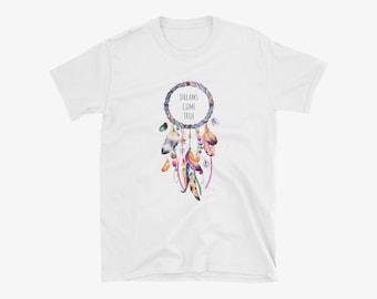 Dreams Come True Dreamcatcher Motivational T-Shirt