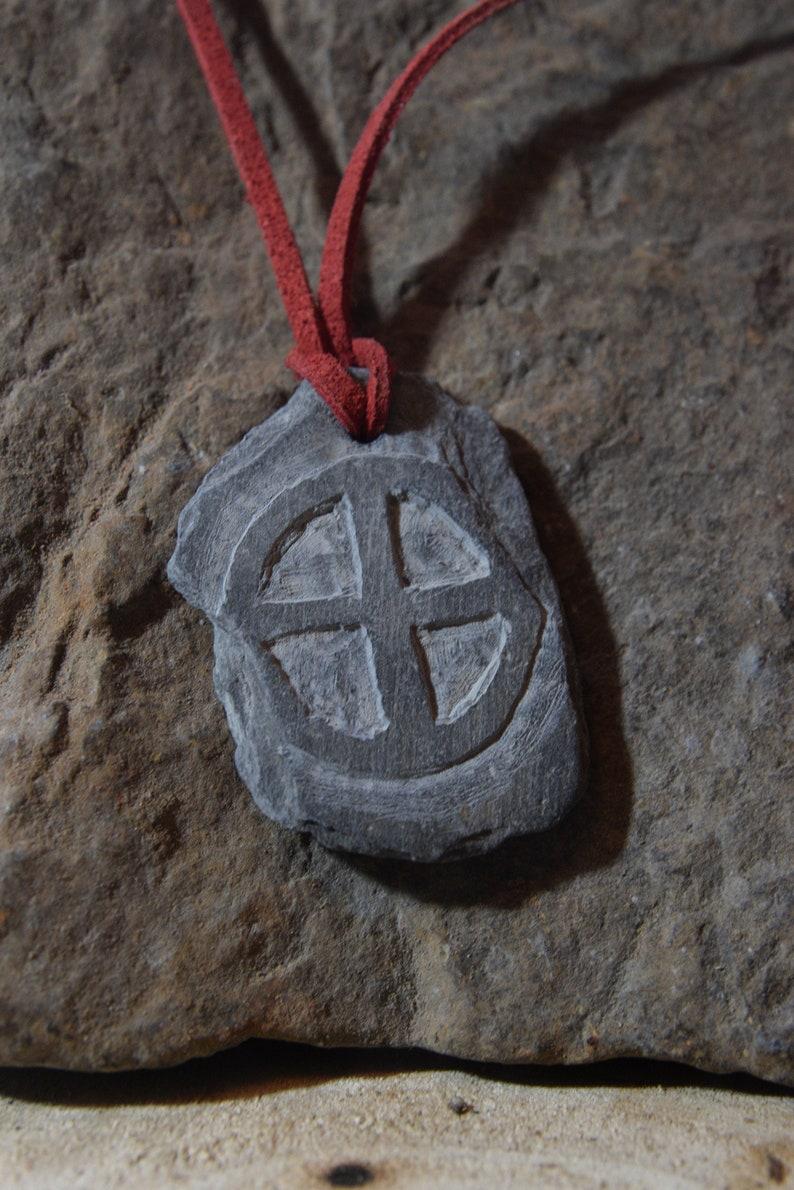 Sun Wheel Amulet