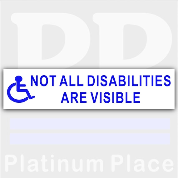 Disabled Logo 1 x Wheelchair Access Sticker 200mm Disability Mobility