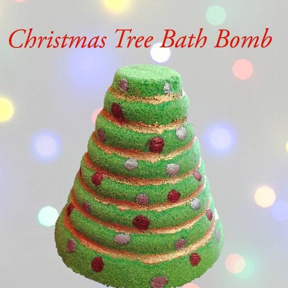 Candy Cane Christmas Tree.Candy Cane Christmas Tree Bath Bomb Bath Bomb Stocking Stuffer