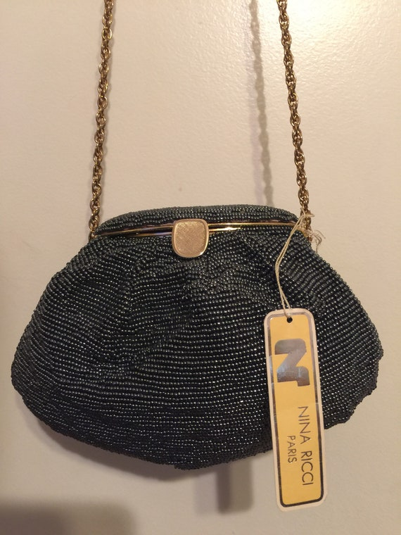 Nina Ricci evening bag.
