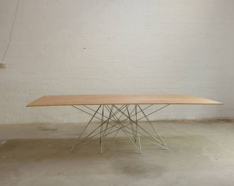 Gordon Base, Spider Base, Metal Dining Table Legs For Sale, Solid Rose Gold  Metal Table Legs Stainless Steel Wood Slab , Live Edge
