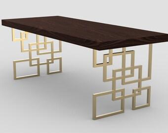 Brass Table Base Etsy