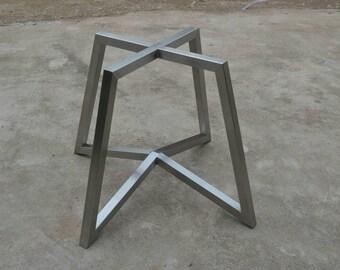Round Table Legs Metal.Chrome Table Base 28 Metal Table Legs Metal Table Legs Etsy