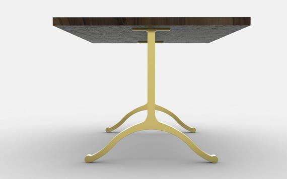 Chrome base tavolo, 28 gambe tavolo in metallo, gambe tavolo in metallo,  tavolo da pranzo base, base da tavolo in ottone, cromato gambe, base da ...