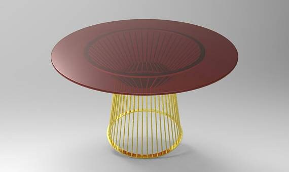 28'' Table Base for Round Dining Table, Dining Table Legs, Metal Table  Legs, Custom Table Legs, Gold Table Legs, From Ivadecorstudio