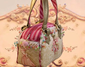 Carnevale Rosa Mini Handbag
