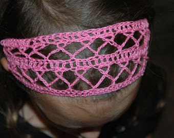 Breast Cancer Awareness Pink Ribbon Headband