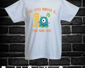 Monster Birthday Shirt