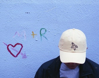 ring ring ring, banana hat [ the dad hat ] - hand embroidered apparel