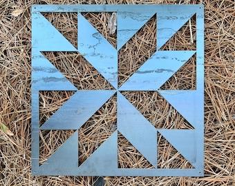 Metal Barn Quilt Art, Barn Quilt Sign, Barn Art, Barn Sign, Geometric Shape, Quilt Decor, Barn Decor, Quilters, Farm Decor, Farmhouse Decor