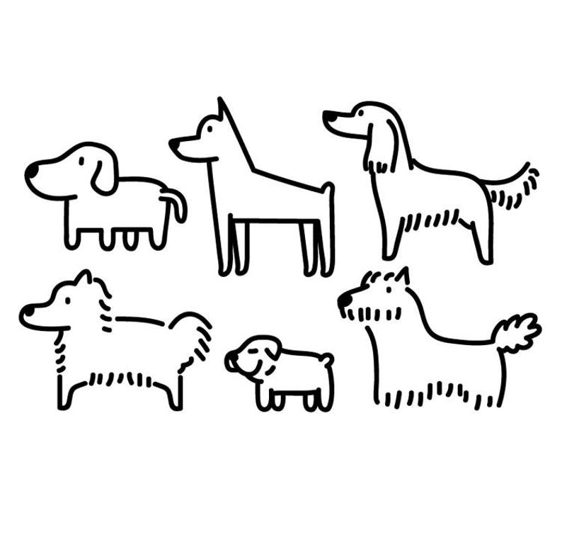 Dog Clipart Animal Clipart Cute Animal Graphic Icon