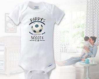 7fddd6ff2 Daddy s Little Soccer Fan Onesie