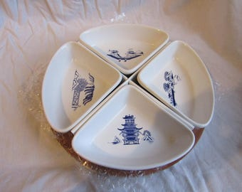 Willow pattern Quarter Dishes
