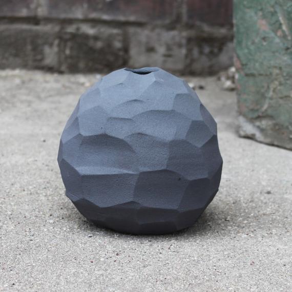 Wild Clay Stone Egg Vessel
