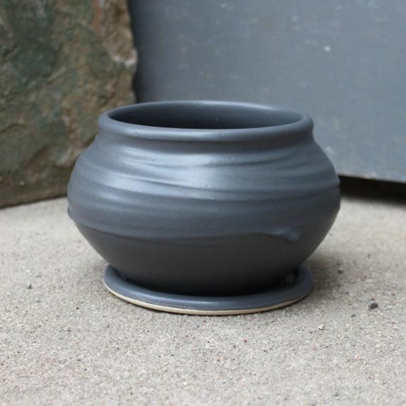 Charcoal Gray Planter