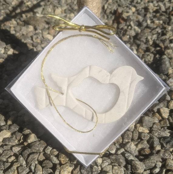 Bird Porcelain Ornament in Gift Box