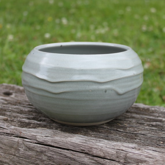 Light Gray Planter Bowl