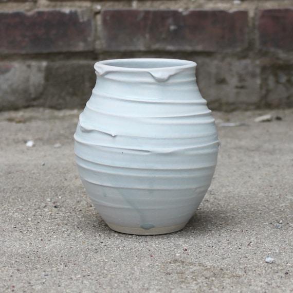 Periwinkle Flower Vase