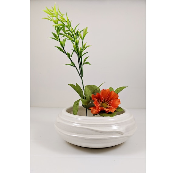 Ikebana Vessel with Kenzan