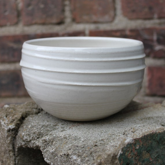 White Cereal Bowl