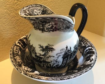 Ironstone Victoriaware Pitcher And Basin Set