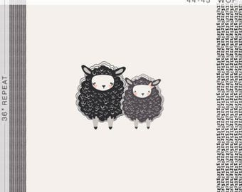Nest - One, Two, Sheep 1 Yard Panel from Art Gallery Fabrics