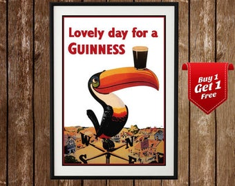 Have This One With Me Guinness Crab Vintage