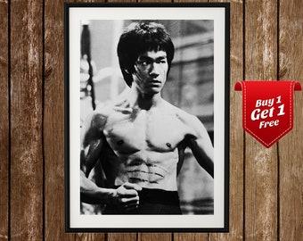 d924bc60fe Bruce Lee Print