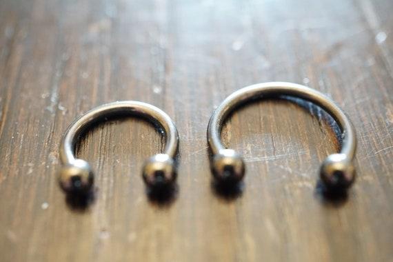 Body Jewellery 316L stainless steel Septum Horseshoe Piercing Jewelry BBC Bead Hoop Helix Tragus Orbital