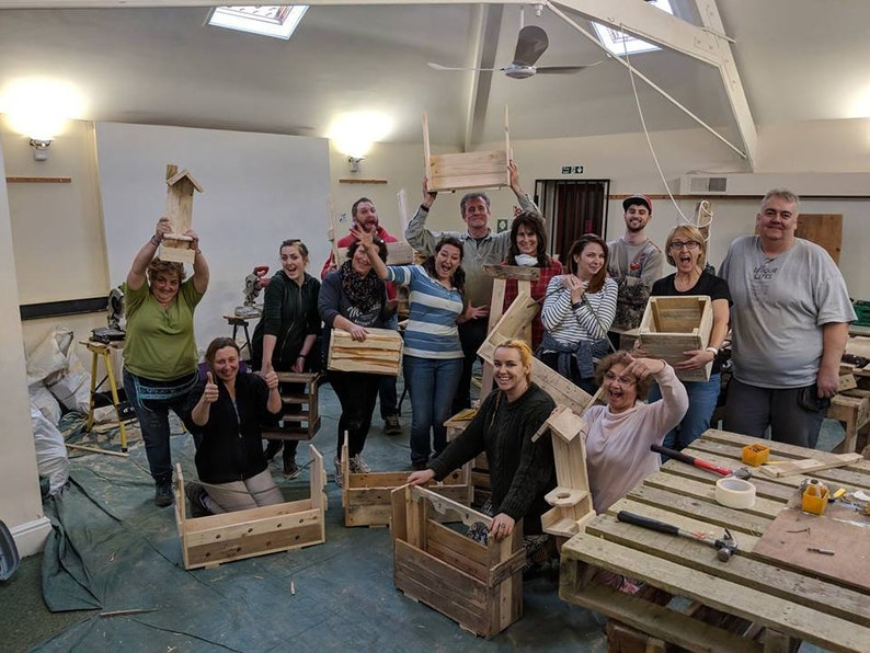 2 day Training course in Up-cycling with Pallets. An image 0