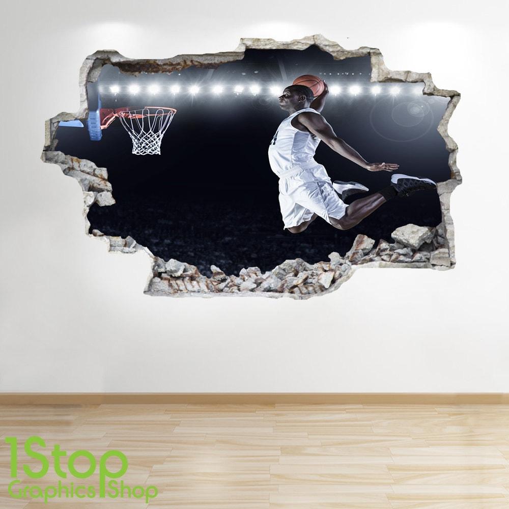 Beeindruckend Wandtattoo Basketball Das Beste Von 🔎zoomen