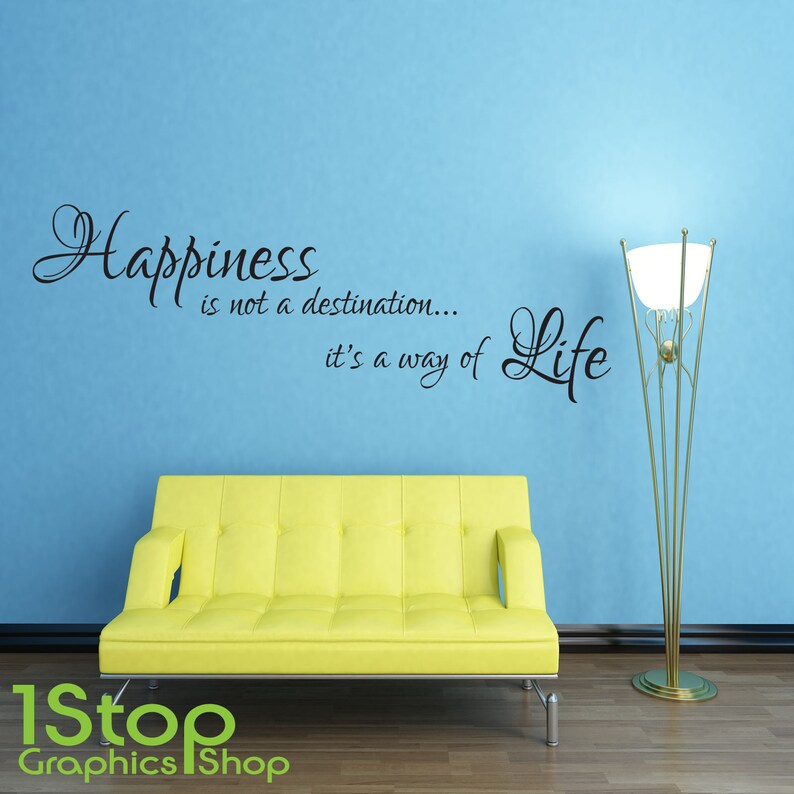 LIFE IS NOT MEASURED WALL STICKER QUOTE BEDROOM LOUNGE WALL ART DECAL X144