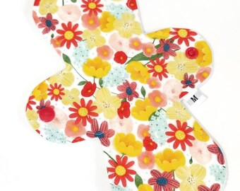 9 inch Moderate Cloth Pad - Windpro Reusable Eco Friendly Mama Cloth Menstrual Pads