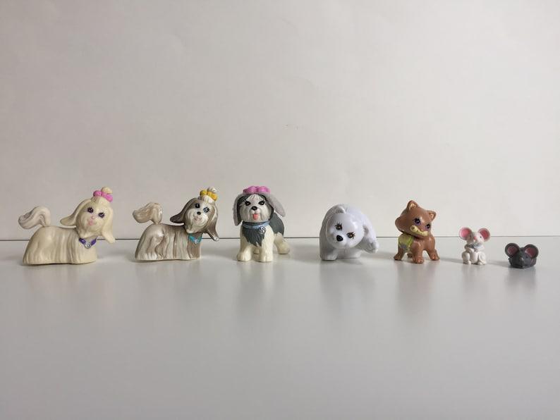 Vintage Littlest Pet Shop Dogs Cat Bears Shih Tzu Sheep Etsy