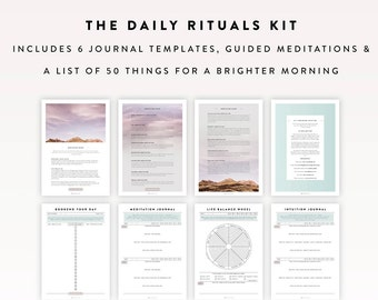 daily journal etsy