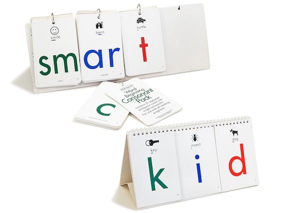 single packs replacements letter-sounds classroom home school phonics Alphagram Card Decks teach reading