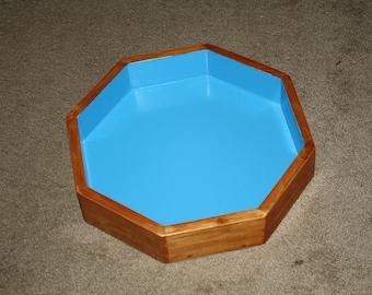 octagonal sand tray