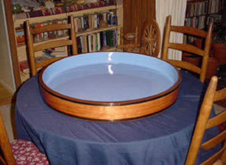 Round Sand Tray