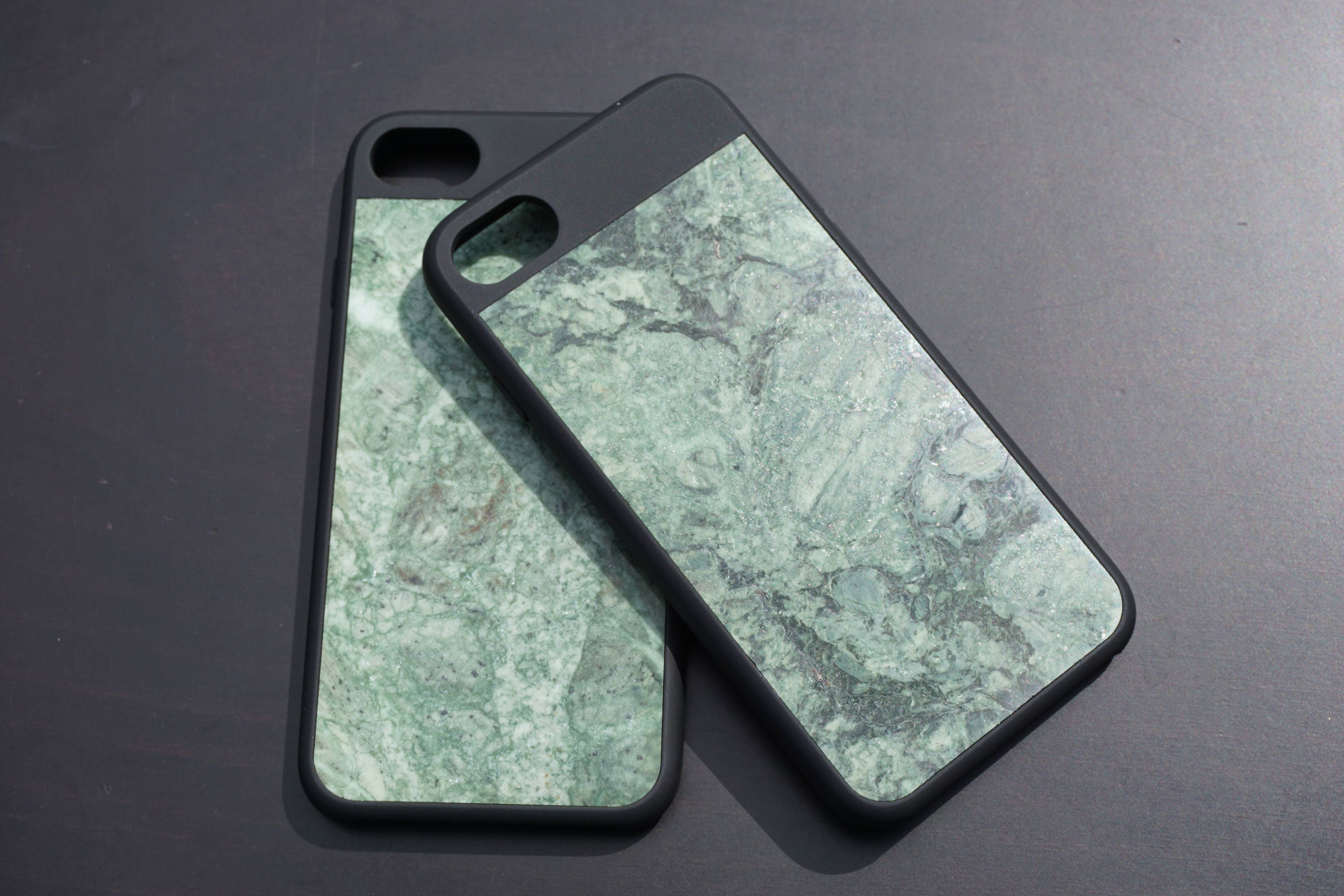 buy popular 3335b 29675 Genuine Forest Green Marble Case for iPhone 7! Authentic From Real Stone!  LIMITED TIME DISCOUNT